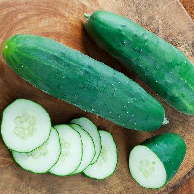 Organic Heirloom Lucky 8 Cucumber Seeds - 20 Count